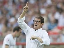 Nationaltrainer Fabio Capello steht in Russland unter Druck