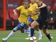 Marta ist mit der brasilianischen Nationalmannschaft im Achtelfinale ausgeschieden