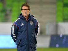 Fabio Capello trainiert die Russen vorerst weiter