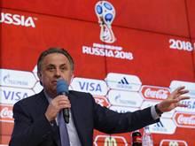 Witali Mutko fürchtet, dass Russland sich nicht für die EM 2016 qualifiziert
