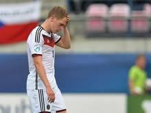 Matthias Ginter versucht die Niederlage zu verarbeiten