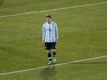 """Die angekündigte Auszeichnung Messis zum """"Besten Spieler"""" der Copa América ist ausgeblieben"""