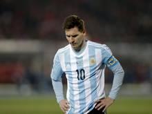 Lionel Messi war nach der Finalniederlage bei der Copa América schwer enttäuscht