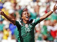 Der Mexikaner Giovani dos Santos wechselt vom FC Villarreal zum US-Club LA Galaxy