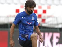 Andrea Pirlo gab in New York sein Debüt in der MLS