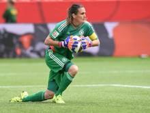 Nadine Angerer kassierte drei Gegentore bei ihrem ersten Einsatz nach der WM