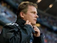 Kiels Trainer Neitzel warnt die Gäste vor dem rustikalen Charme des Kieler Stadions
