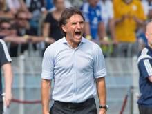 HSV-Trainer Bruno Labbadia hat seine Profis zu einer ungeplanten Übungseinheit bestellt