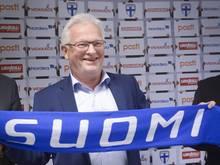 Hans Backe soll Finnland zur WM 2018 führen