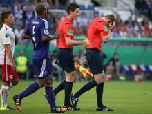 Der Feuerzeugwerfer aus dem DFB-Pokalspiel  zwischen Osnabrück und Leipzig wurde gefasst