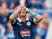 Christian Müller musste nach einem Trainingsunfall in die Klinik