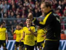 Jonas Hofmann brachte Borussia Dortmund gegen Bayer Leverkusen in Führung