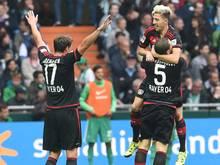 3:0 gewann Leverkusen in Bremen
