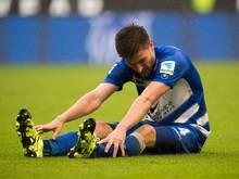 Duisburgs Dustin Bomheuer hat sich das Nasenbein gebrochen