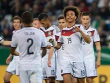 Leroy Sané gehörte zu den Besten im Team der deutschen U21