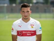 Arianit Ferati hat beim VfB Stuttgart einen Vertrag bis 2020 unterschrieben