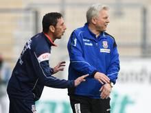 Benno Möhlmann und Assistenten Sven Kmetsch werden auch in München gemeinsam arbeiten