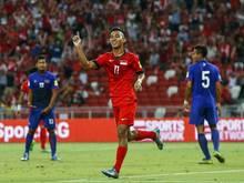 Faris Ramli traf für Singapur