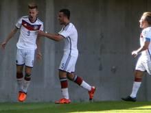 4:1 gewannen die DFB-Junioren gegen Australien