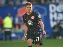Aleksandar Ignjovski steht bei der Frankfurter Eintracht unter Vertrag