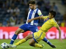 Portos Ruben Neves ist der jüngste Kapitän in der Geschichte der Champions League