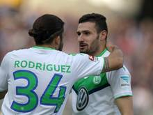Wolfsburg gewann durch dasTor von Daniel Caligiuri. Foto: Fredrik von Erichsen