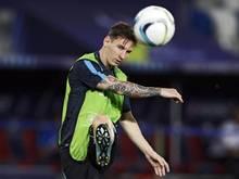 Superstar Lionel Messi wird wohl in Madrid auf den Platz zurückkehren