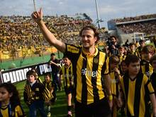 Diego Forlan hat mit seinem Lieblingsclub Peñarol Montevideo die Meisterschaft gewonnen