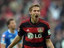 Kießling brachte Leverkusen bei Unterhaching in Führung