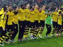 Hat wieder häufig Grund zum Jubeln: Das Team des BVB