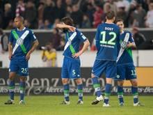 Der VfL Wolfsburg kassierte in Stuttgart eine klare 1:3-Pleite