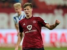 Patrick Erras spielt weiter für den 1. FC Nürnberg