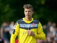 Torwart Mitchell Langerak steht beim VfB vor seinem Pflichtspieldebüt