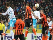Schalke musste sich mit einem 0:0 gegen Schachtjor Donezk zufrieden geben