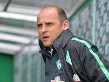 Bremens Trainer Viktor Skripnik glaubt an sein Team. Foto: Carmen Jaspersen
