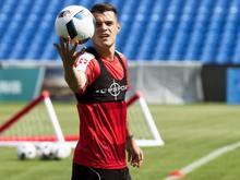 Granit Xhaka spielt für die Schweiz, sein Bruder Taulant für Albanien