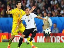 Mesut Özil ließ gegen die Ukraine seine Genialität aufblitzen