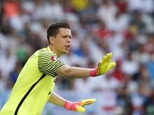 Polens Keeper Wojciech Szczęsny wird weiter am verletzten Oberschenkel behandelt