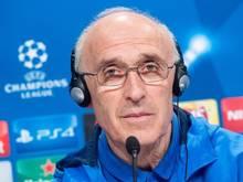 Rostovs Trainer Ivan Daniliants stellt sein Team auf starke Bayern ein