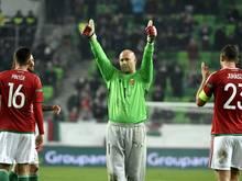 Gabor Király hat sich aus der ungarischen Nationalmannschaft verabschiedet