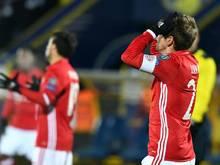 Bayern-Kapitän Philipp Lahm glaubt an eine positive Zukunft mit Uli Hoeneß