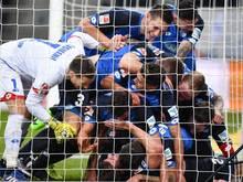 Die TSG Hoffenheim konnte gegen Mainz gleich vier Treffer bejubeln