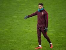 Diego Simeone will seine Sturmreihe erst kurz vor dem Spiel bekanntgeben