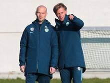 Neue Hoffnungsträger in Wolfsburg: Freddie Ljungberg und Andries Jonker
