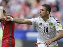 Javier Hernández ist der bekannteste Fußballer Mexikos