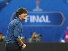 Joachim Löw nach dem Finalsieg gegen Chile