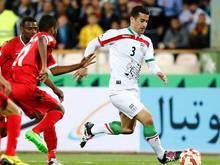 Ehsan Hajsafi ist einer der beiden Nationalspieler Irans, denen Ungemach vom eigenen Verband droht
