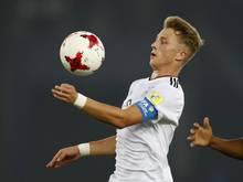 Bei der U17-WM in Indien erzielte Jann-Fiete Arp fünf Treffer