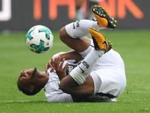 Jonathan de Guzmán zog sich im Testspiel der Eintracht gegen den SV Sandhausen eine Schulterverletzung zu