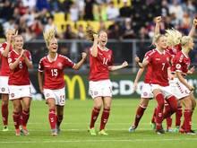 Die dänischen Nationalspielerinnen hatten wegen eines Konflikts um ihre Entlohnung gestreikt
